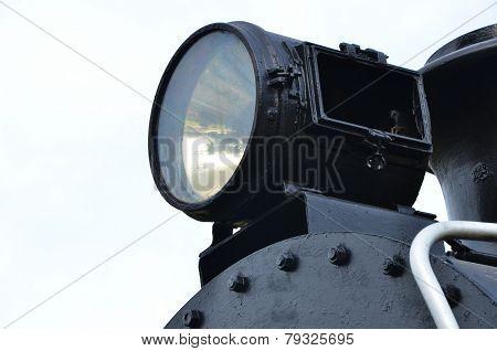 Big Light Of The Train