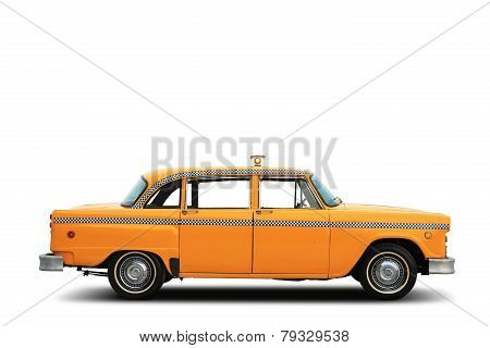 Taxi, retro car
