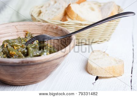 Cooked French Bean