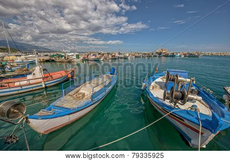 Bay For Fishing Boats