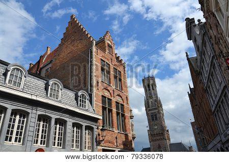 The Belfry Of Bruges, Belgium