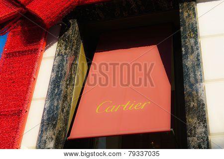 Cartier Retail Store Exterior