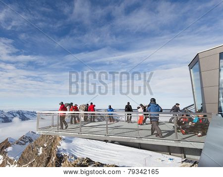 People On The Viewing Platform