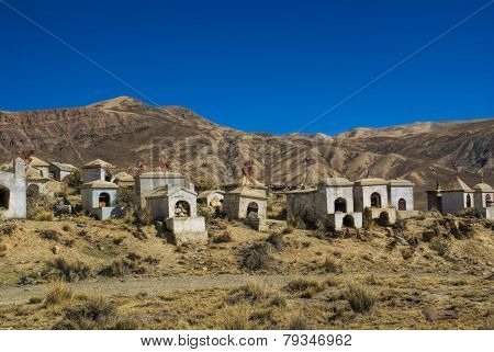 Graveyard In Andes