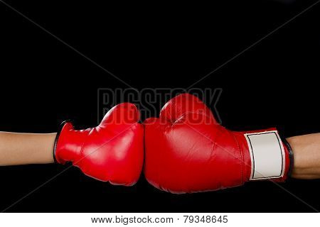 Boxing Match.