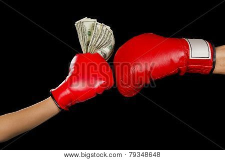 Boxing For Money.