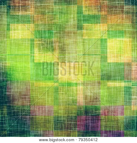 Rough grunge texture. With different color patterns: yellow; purple (violet); green; brown; pink yellow; purple (violet); green; brown; pink