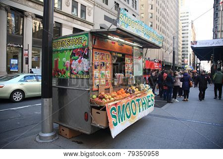 New York Street Vendor