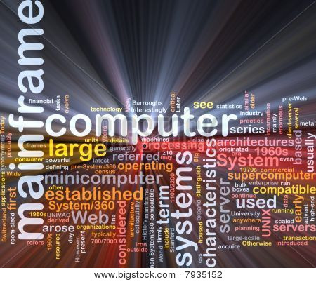 Mainframe Word Cloud Box Package