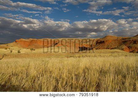 Scenic Namibian Cliff