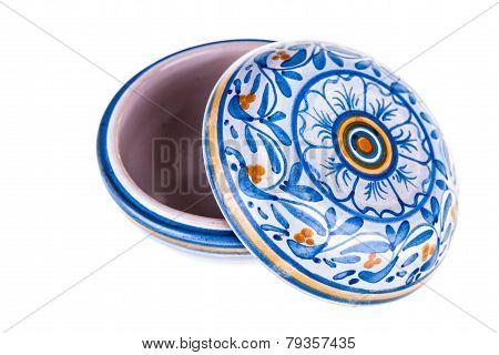 Round Casket