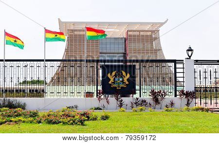 The Flagstaff House - Presidential Palace Of Ghana