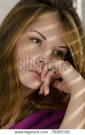 Girl Near The Window.