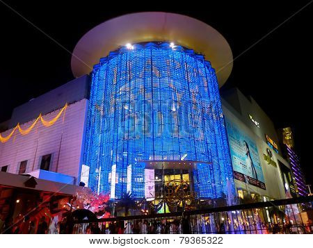 Siam Paragon Shopping Center In Central Bangkok