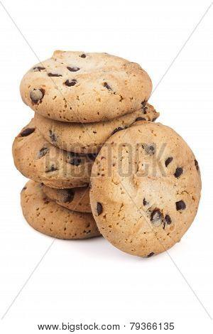 Six Chocolate Chips Cookies