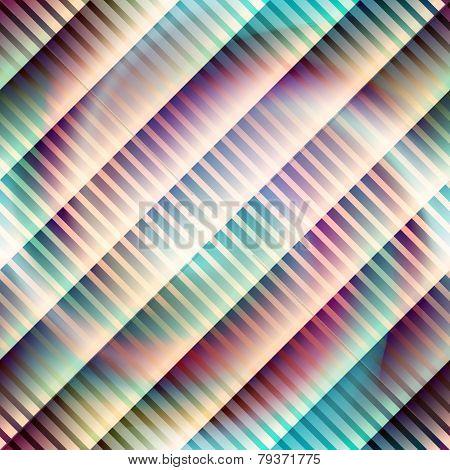 Diagonal strikes pattern on spiral background.