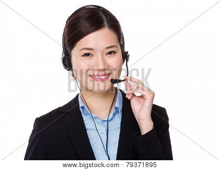 Customer services receptionist