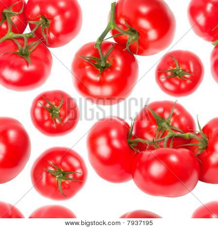 Tomatoes Seamless Wallpaper
