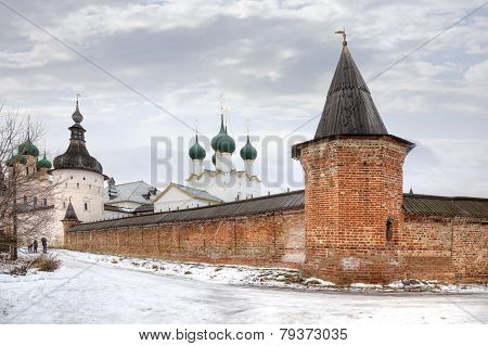Kremlin Of City Rostov