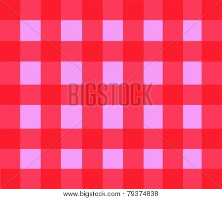 Background Vector-Red & Pink Checkered