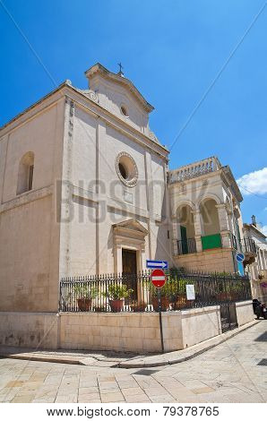 Church of St. Nicola. Fasano. Puglia. Italy.