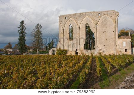 The Big Walls in St. Emilion