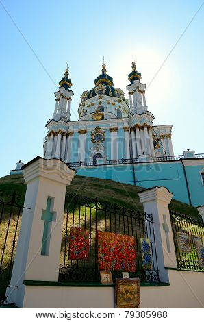 St. Andrew's Church, Kiev