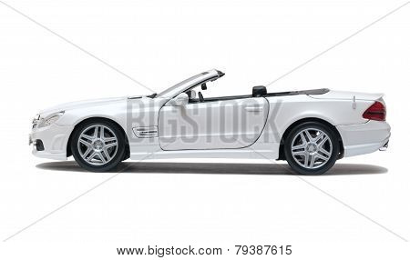 White Car Cabriolet