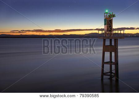 Fraser River, Georgia Strait, Twilight