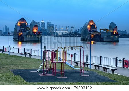 Thames Barrier Visitor Center