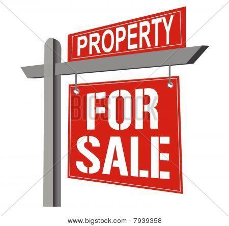 Casa en venta / vector