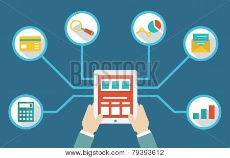 Management Of Money By Means Of Tablet Pc