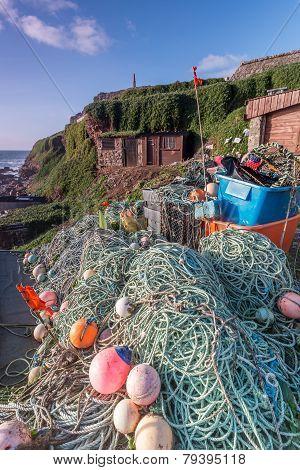 Fishing equipment at Cape Cornwall