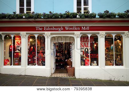 The Edinburgh Woollen Mill