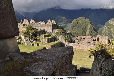 Machu Picchu in the Sun
