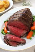 pic of wagyu  - roast beef with yorkshire pudding - JPG