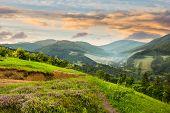 stock photo of composition  - composite mountain landscape - JPG