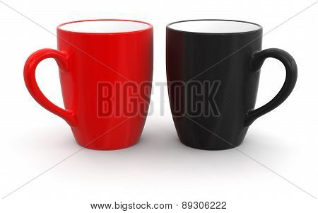 Two Cups (clipping path included)