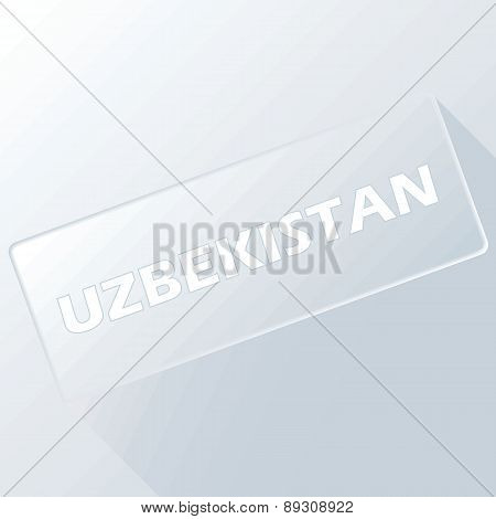 Uzbekistan unique button