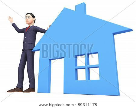 Real Estate Realtor Shows For Sale And Builds