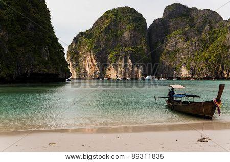 Ko Phi Phi Leh, The Place Where The Movie' The Beach' Starring Leonardo Di Caprio Was Filmed
