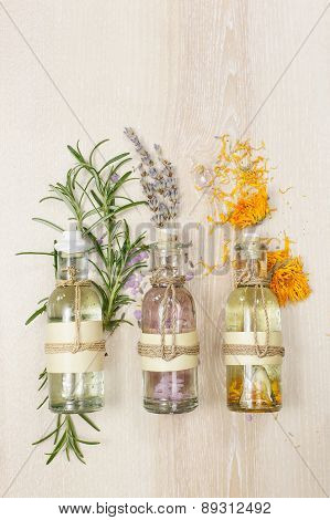 Aromatherapy massage oils