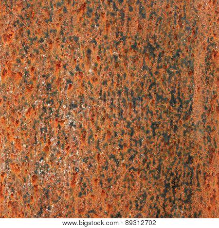 Rusty Metal Wall.
