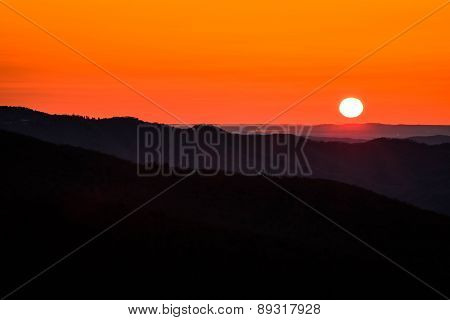 Blue Ridge Parkway Sunrise 6
