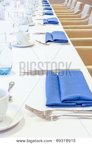 Covered Table