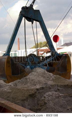 Industrial Scoop Shovel