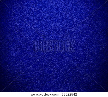Blue (Pantone) color leather texture background