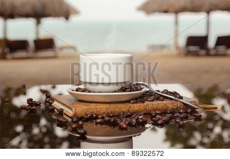 Coffee Sea Horizontal