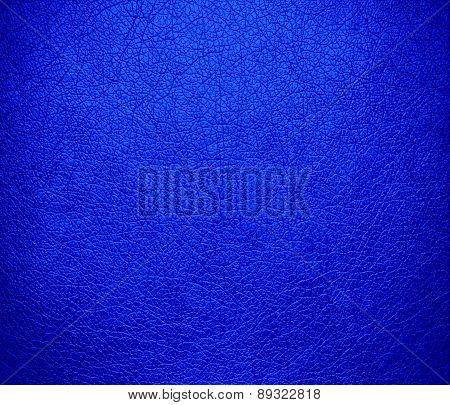 Bluebonnet color leather texture background