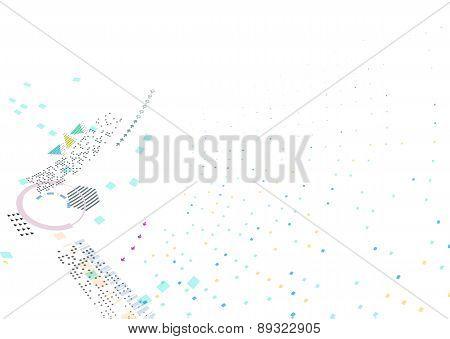 Abstract Triangle Brochure Flyer design vector